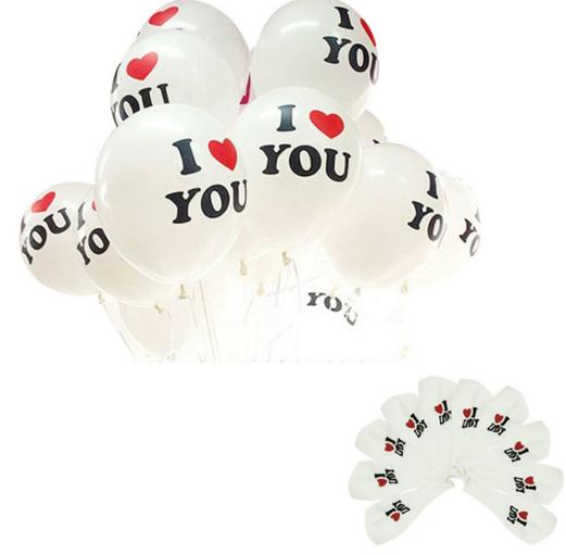Baloni, I LOVE YOU. Kods: 8