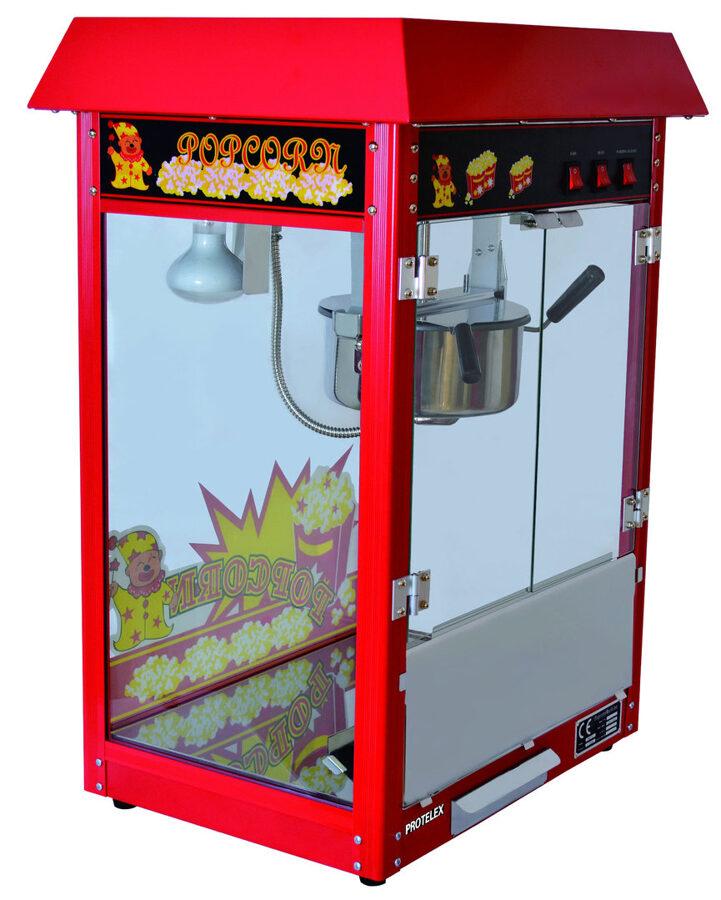 Popkorna aparāta noma (iespējams pagatavot saldo popkornu)