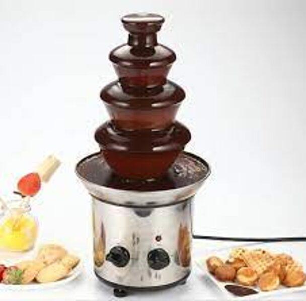 Šokolādes strūklakas noma