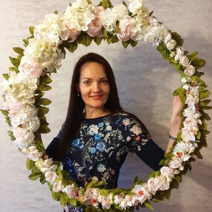 Ziedi tavā ballītē - ziedu rāmis